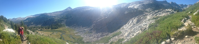 Donohue Pass - panoramic 1