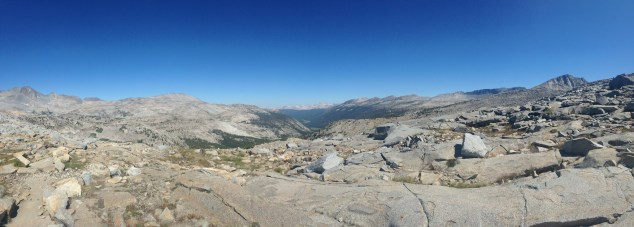 Donohue Pass - panoramic 2